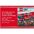 Lego Custom Invitation