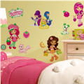 Strawberry Shortcake & Friends Wall Decals 40in