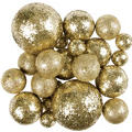 Gold Glitter Spheres 24ct