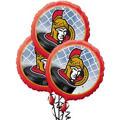 Ottawa Senators Balloons 3ct
