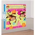 Monkey Love Scene Setters 5pc