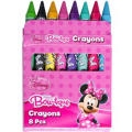 Minnie Mouse Crayons 8ct