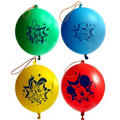 Latex Mickey Mouse Punch Balloons 4ct