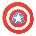 Soft Captain America Shield 9in