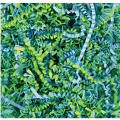 Blue and Green Paper Easter Grass
