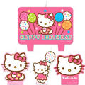 Hello Kitty Candles 4ct