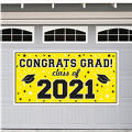 Yellow 2015 Graduation Banner