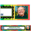 A Year to Celebrate 85 Custom Photo Banner 6ft