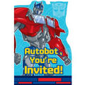 Optimus Prime Transformers Invitations 8ct