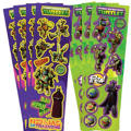 Teenage Mutant Ninja Turtles Stickers 8 Sheets