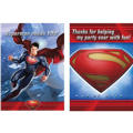 Man of Steel Superman Invitations & Thank You Notes
