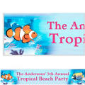 Tropical Summer Custom Banner