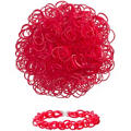 Red Rubber Loom Bands 300ct