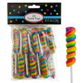 Rainbow Twisty Pops 20pc