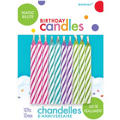 Bright Magic Re-Lite Birthday Candles 2in 10ct