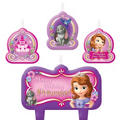 Sofia the First Birthday Candles 4ct