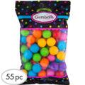 Rainbow Gumballs 55pc
