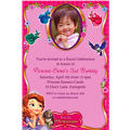 Sofia the First Custom Photo Invitation