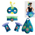 Child Peacock Accessory Set 4pc