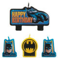 Batman Birthday Candles 4ct