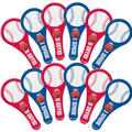 Baseball Paddle Balls 12ct