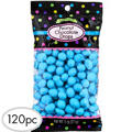 Caribbean Blue Peanut Chocolate Drops 120pc