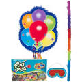 Pull String Personalized Balloons Pinata Kit