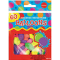 Assorted Color Water Bombs 60ct