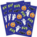 Glitter Halloween Stickers 3 Sheets
