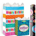 Happy Birthday Gift Bags & Gift Wrap