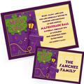 Custom Mardi Gras Invitations & Thank You Notes