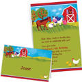 Custom Barnyard Invitations & Thank You Notes