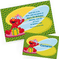 Custom Elmo Invitations & Thank You Notes
