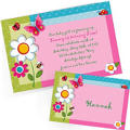 Custom Garden Girl Invitations & Thank You Notes