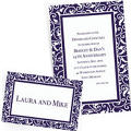 Royal Blue Custom Wedding Invitations & Banners
