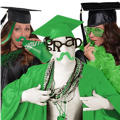 Graduation Spirit Green