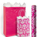 Bright Pink Gift Bags & Gift Wrap