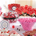 Valentines Day Candy Buffet