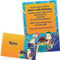 Custom Phineas and Ferb Invitations & Thank You Notes