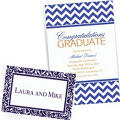 Royal Blue Custom Invitations & Banners
