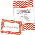Orange Custom Invitations & Banners