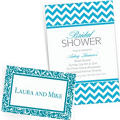 Caribbean Blue Custom Invitations & Banners