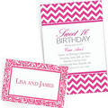 Bright Pink Custom Invitations & Banners