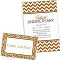 Gold Custom Invitations & Banners
