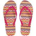 Pink Boho Flip Flops