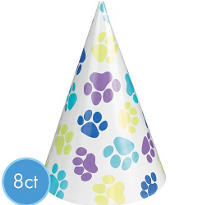 Party Pups Party Hats 8ct