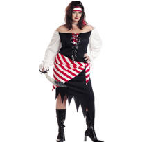 Adult Ruby The Pirate Costume Plus Size