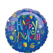 Foil Hanukkah Fun Balloon 18in