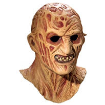 Latex Freddy Krueger Mask Deluxe - Nightmare on Elm Street