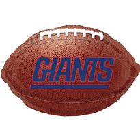 New York Giants Foil Balloon 18in